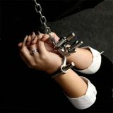 BDSM (БДСМ) - Unisex Luxury Stainless Steel U-shaped handcuffs