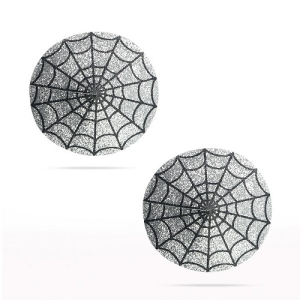 Reusable Spider Glittering Sexy Nipple Pasties