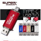 флеш накопитель flash drive usb 3.0 128gb type-c micro-usb по оптовой цене
