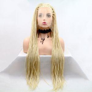 Длинный парик блонд омбре из афро косичек с светлыми корнями - СВЕЖИЕ ПОСТУПЛЕНИЯ!