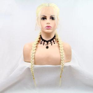 Парик с двумя длинными колосками в цвете блонд - СВЕЖИЕ ПОСТУПЛЕНИЯ!