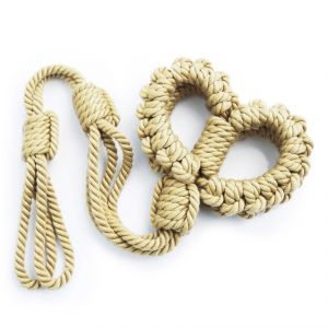 new braided rope handcuffs Yellow