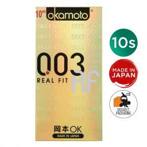 Презервативы ультратонкие Okamoto Real Fit 0.03, 3 шт
