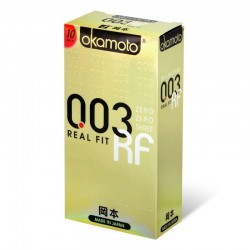 Презервативы ультратонкие Okamoto Real Fit 0.03, 3 шт -