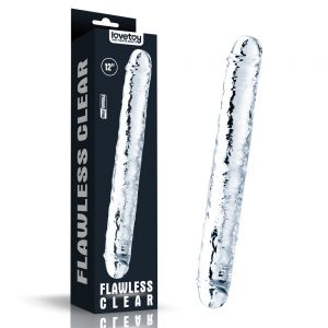 Flawless Clear Double dildo 12