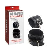 BDSM (БДСМ) - Obey Me Leather Hand Cuffs