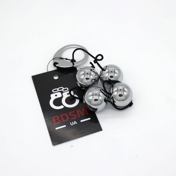 Anal beads heavy Metal. Артикул: ORI526185