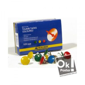 Button to fasten (color), 10 PCs.. Артикул: ROK00004