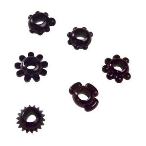 SALE! Nozzles Joy black magic Rings, 6 PCs